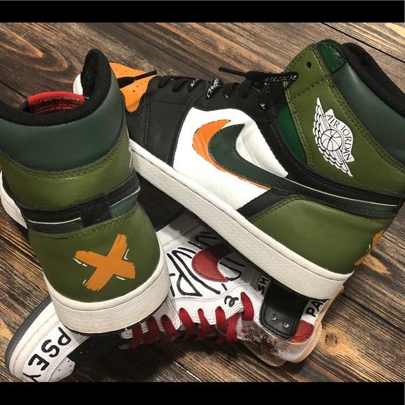 Jordan Shoes   Jordan Yin Yang Custom